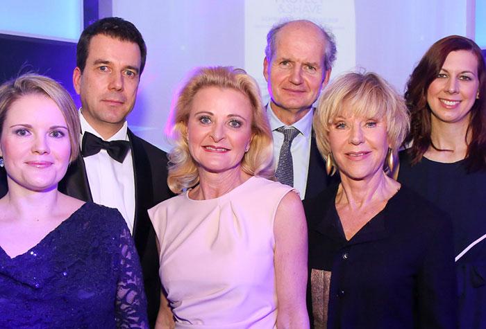 Nivea Pressekonferenz Wien 2015 mit Thomas Ingelfinger, Europavorstand Beiersdorf, Helene Karmasin u.a.
